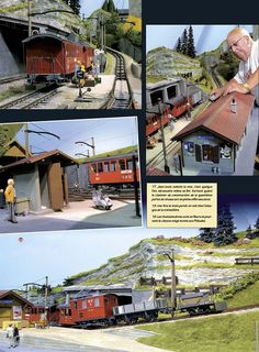10 Train Layouts, Comfort Zone, Magazines, Miniature, Mansions, House Styles, Electric Train, November, Hobbies