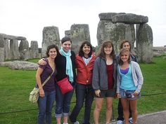 Tri-S  offers students the opportunity to travel the world like the students pictured here in England.