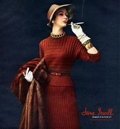 Dovima wearing Jane Irwill 1953