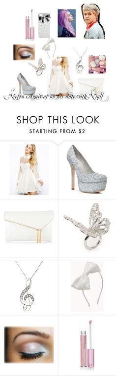 """""""Nessa Aguiwas on her date with Niall Horan"""" by angel-x3 ❤ liked on Polyvore featuring Arrogant Cat, Alice + Olivia, Henri Bendel, Alexander McQueen, Forever 21, Victoria's Secret and Wet Seal"""