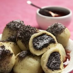 Makové bramborové knedlíky Sweet Desserts, Sweet Recipes, Snack Recipes, Cooking Recipes, Slovak Recipes, Czech Recipes, Eastern European Recipes, I Want Food, Sweet Cooking
