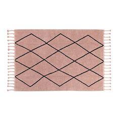 Berber Rug - Vintage Nude Pink by Lorena Canals Berber Carpet, Berber Rug, Tapis Rose Pale, Lorena Canals Teppich, Machine Washable Rugs, Little Unicorn, Little Monkeys, Persian Carpet, Simple Elegance