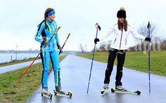 #Pippa #Middleton goes roller-skiing at Dorney Lake for her Sport & Social Column in the Telegraph