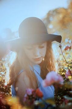 Chapeau fleurie