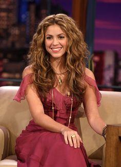 Shakira light brown colour!