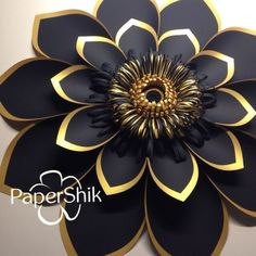 Paper flowers by PaperShik. Just🔝😎 - papershik_online Paper Flowers Craft, Large Paper Flowers, Paper Flower Wall, Paper Flower Backdrop, Giant Paper Flowers, Flower Crafts, Diy Flowers, Flower Decorations, Fabric Flowers