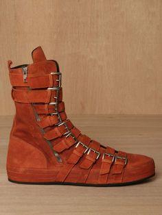 Ann Demeulemeester Scamasciato Boot | SLAMXHYPE orange