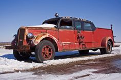 old photos of fire trucks | Mack Fire Truck | Flickr - Photo Sharing!