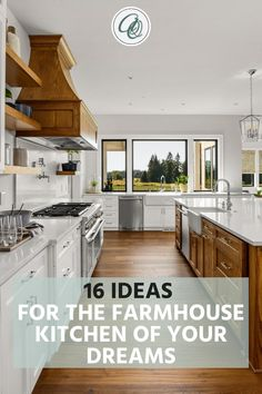 Explore Annie and Oak's 16 Ideas for the Farmhouse Kitchen of Your Dreams. Having been looking for design inspirations for your massive farmhouse kitchen make-over? You are a few moments away in discovering the secret as we are about to tell you the best ideas on turning your ordinary farmhouse kitchen into a rustic and cozy go-to place that will surely feast your eyes. Visit us at annieandoak.com for more tips and ideas in setting up your farmhouse kitchen. #farmhousekitchendesign Vintage Farmhouse Sink, Fireclay Farmhouse Sink, Copper Farmhouse Sinks, Farmhouse Sink Kitchen, Modern Farmhouse Kitchens, Farmhouse Design, Rustic Farmhouse, Retro Kitchen Appliances, Kitchen Countertops