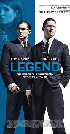 Directed by Brian Helgeland. With Tom Hardy, Emily Browning, Taron Egerton, Paul Anderson. Identical twin gangsters Ronald and Reginald Kray terrorize London during the Tom Hardy Legend, Legend 2015, Female Comic Characters, Viking Series, Vikings Season, Emily Browning, Video Game Reviews, Sports Day, Identical Twins
