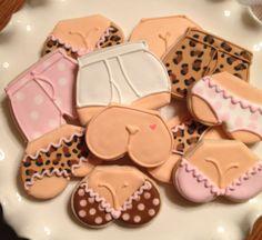 Lingerie cookies @Terry Hood Norris