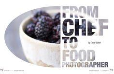 "Dorothy Salvatori Food, Lifestlye & travel Photographer...""International Magazine  ""Raw & More"" Feature on Dorothy Dec 2014"