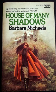 House of Many Shadows - Barbara Michaels Cover art by Harry Bennett