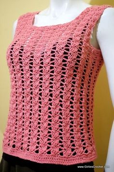 carla summer top, free crochet pattern, sidesaddle cluster stitch, photo tutorial in each step, easy, pattern for beginners