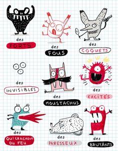 Monsters • Elise Gravel