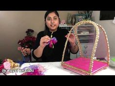 Engagement Decorations, Diy Wedding Decorations, Bridal Gift Wrapping Ideas, Thali Decoration Ideas, Creative Wedding Gifts, Trousseau Packing, Diy Crafts For Gifts, Wedding Crafts, Hand Embroidery Designs