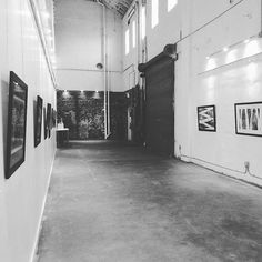 Doors open! #FirstFriday #TampaHeights #behindthebluedoors New exhibit by Julianne French opening tonight until 10pm. Open dance cypher in the main studio. Right now, #NinaSimone serenading the #theater.