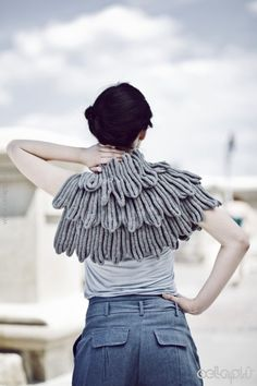 Little Wing Shrug. via Etsy.
