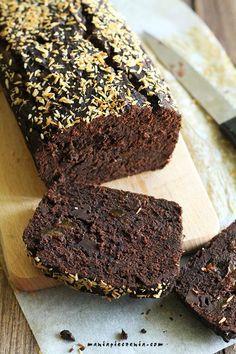 maniapieczenia: Ciasto czekoladowo-bananowe Fit (wegańskie, bez glutenu, laktozy i cukru)