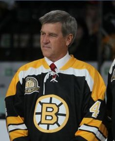 I still love him after all these years!  #4  Bobby Orr of the Boston Bruins!