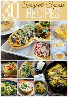 Check out these 30 Spaghetti Squash Recipes for delicious and healthy dinner ideas.
