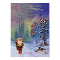 SANTA OF THE GNOMES, CHRISTMAS PARTY CUSTOM INVITE