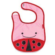 bubbalove.com.au - Skip Hop - Zoo Bib - Ladybug, $11.95 (http://www.bubbalove.com.au/skip-hop-zoo-bib-ladybug/)