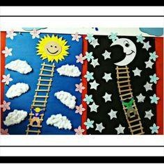Class Art Projects, Kindergarten Projects, Preschool Art Activities, Fun Activities For Kids, Bee Crafts For Kids, Art For Kids, Space Crafts, Diy Crafts, Erdem