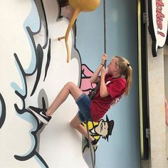 Just one of the many adventures our fifth graders are experiencing at Universal. #climbthatwall #lakeparkga #vikingvoyage #learningatlpe