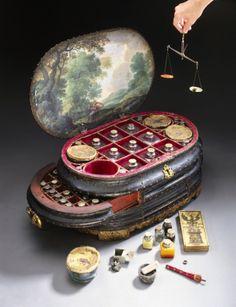 rootandrock:  victoria-vacuus:  lunaghoststar:  Genoese Medicine Chest, 1562-1566 This magnificent and unique medicine chest was made for Vi...