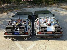 Back To The Future DeLorean Time Machine Conversion Kit Dmc Delorean, Delorean Time Machine, The Future Movie, Back To The Future, Old Sports Cars, Bttf, Sci Fi Ships, Mustang Cobra, Car Museum