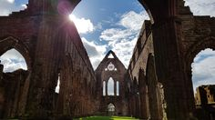 Awesome day at Sweetheart Abbey near Dumfries