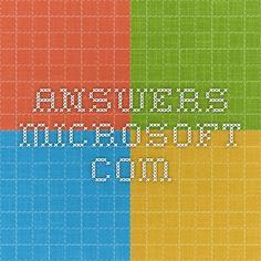answers.microsoft.com