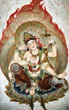 Nyoirin Kannon (Japonês = Avalokiteshvara)