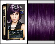 Purple Violet Midnight Black Hair Dye Best Dark