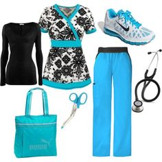 – Try to help with everyday issues! Scrubs Outfit, Scrubs Uniform, Medical Scrubs, Nursing Scrubs, Nursing Tips, Stylish Scrubs, Cute Scrubs, Cute Nurse, Nursing Clothes