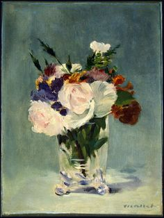 Édouard Manet - Flowers in a Crystal Vase, c.1882