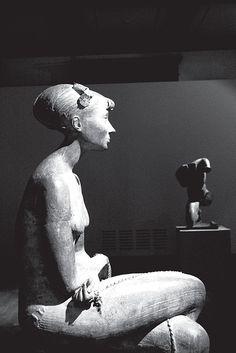 Bronze sculpture by Venanzo Crocetti