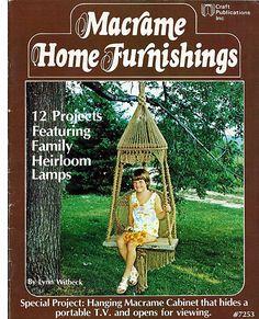 Macrame Home Furnishings  Macrame Pattern Book