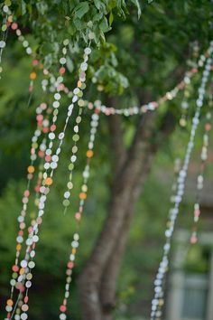 Love circle garlands