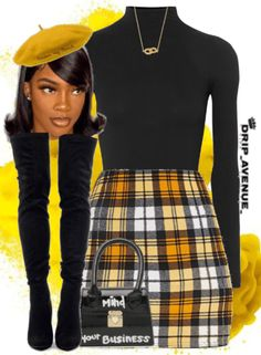 Swag Outfits For Girls, Teenage Girl Outfits, Cute Swag Outfits, Cute Comfy Outfits, Teen Fashion Outfits, Baddie Outfits Casual, Dressy Outfits, Stylish Outfits, Plaid Outfits