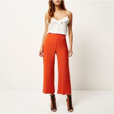 Trousers for Women Slacks, Trousers, Pants, Wide Leg, Coral, Legs, Collection, Women, Style
