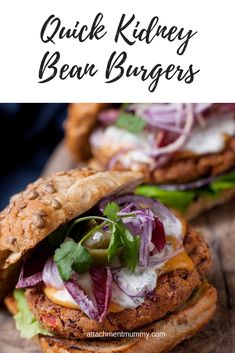 Vegetable burgers with sweet potato wedges Bean Recipes, Burger Recipes, Raw Food Recipes, Grilling Recipes, Healthy Recipes, Dinner Recipes, Veggie Recipes, Yummy Recipes, Delicious Desserts