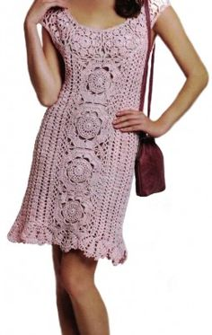 Favorite patterns - crochet dress 1015