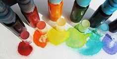 Make your own Shimmery sprays - links to multiple tutorials and uses here