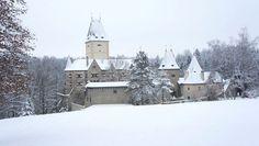 Schloss Ottenstein, Waldviertel Austria, Heart Of Europe, See It, Homeland, Vienna, Medieval, Snow, Christmas, Travel