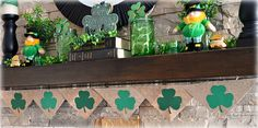 I've never done a St. Patrick'sDay mantel before but decided to give it a try this year and had a lot of fun. Manyof the elements I us...