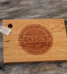 Custom Family Name Cutting Board | Home Kitchen & Pantry | Richwood Creations | Scoutmob Shoppe | Product Detail
