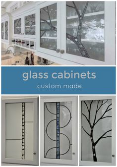 Custom Glass Kitchen Cabinets. Looking For Kitchen Ideas? Think About  Adding A Custom Leaded