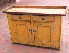 Google Image Result for http://images.oneofakindantiques.com/7333_dry_sink_mustard_paint_1.jpg